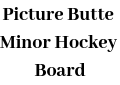 Picture Butte Minor Hockey Board